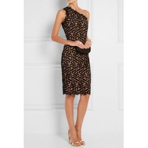 Stella McCartney Lace One Shoulder Dress, IT 38/2